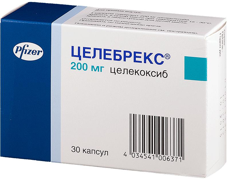 Целебрекс - описание препарата особенности применения дозировки