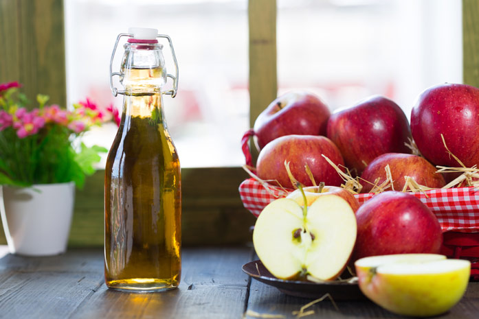 Мед яблочный уксус при подагре