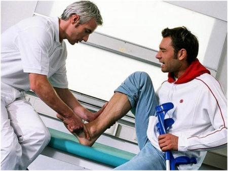 Как проходит восстановление голеностопа после операции