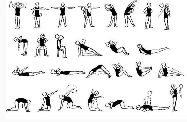 Лечебная гимнастика для позвоночника при остеохондрозе