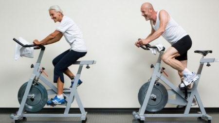 Велотренажер для реабилитации коленного сустава