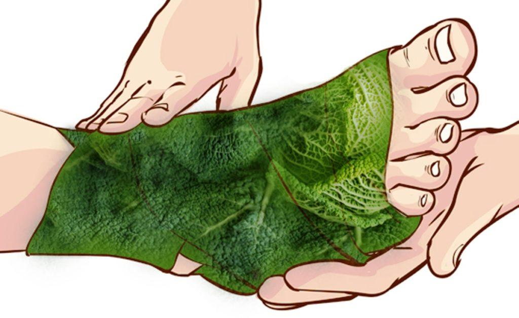 Компресс из капустного листа