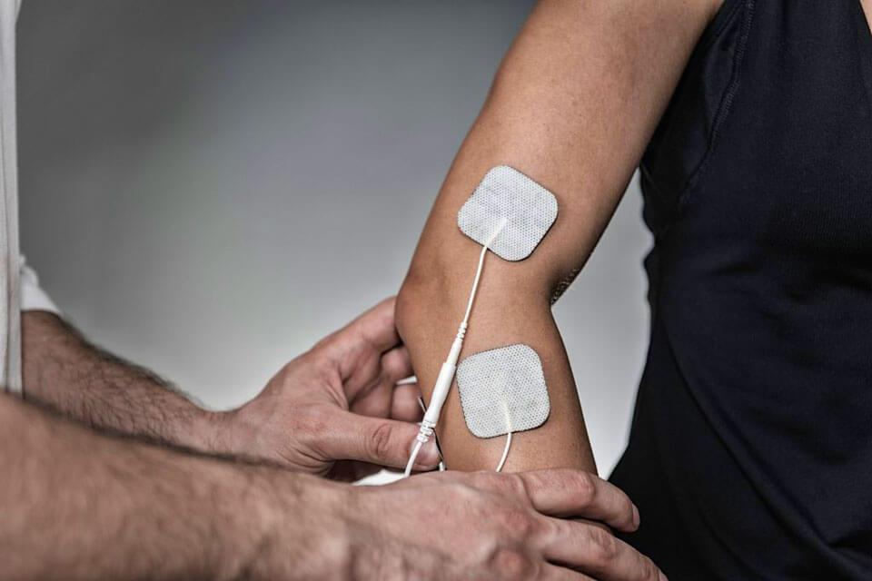 Электрофорез локтевого сустава